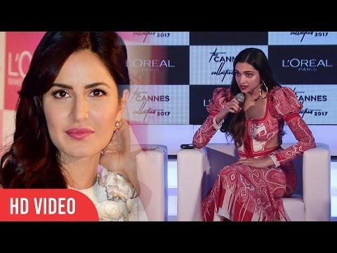 Deepika Padukone Reaction On Katrina Kaif's Comment On Raabta Title Song