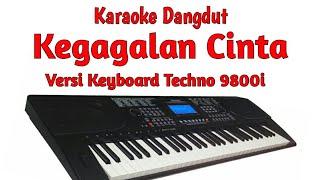 "dangdut manual ""KEGAGALAN CINTA (KARAOKE)"" versi keyboard techno 9800i sampling via OMB"