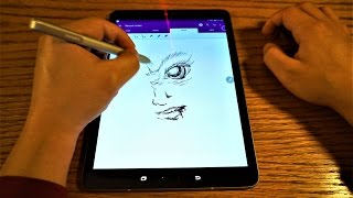 Tab S3 Vs Dawn Of Titans | Gaming Tablet Test + Game Tools + Recording + GIF Creation + S Pen