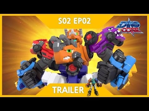 [DinoCore] Trailer | The appearance of New DinoCore, Tree | Robot Animation | Season 2 EP02