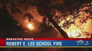 Robert E. Lee school fire
