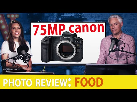 Canon's 75 Megapix monster! Food Photo Review. Chaos. Holiday Cheer. (TC LIVE!)