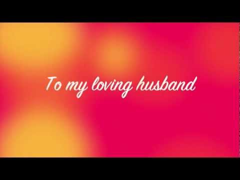 To My Husband, on Valentine's Day Musical E-card