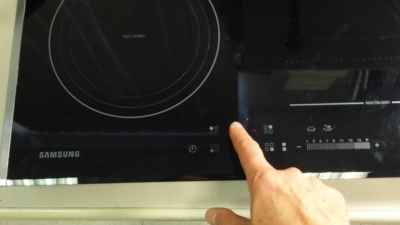 Collaudo riparazione piano cottura induzione Samsung mod ...