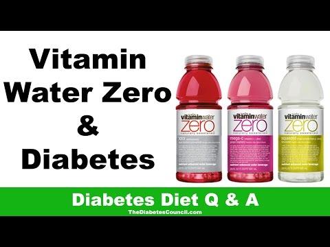 Is Vitamin Water Zero Good For Diabetes?