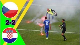 مباراة مجنونة/ التشيك ~ كرواتيا 2-2 كأس أمم أوروبا 2016 تعليق عصام الشوالي جودة عالية جودة عالية