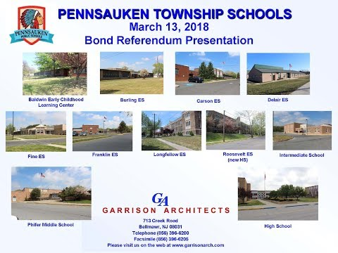Pennsauken Bond Referendum Information