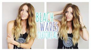 Beach Waves Tutorial   vlogwithkendra