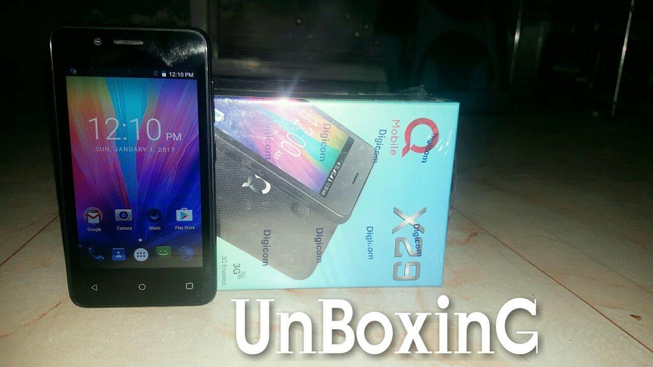 QMobile X29 Unboxing   Mobile World Urdu