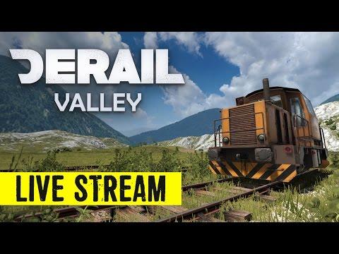 Derail Valley VR Train Simulator LIVE STREAM Game Play