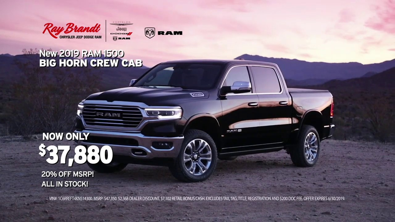 Ray Brandt Dodge >> Ray Brandt Dodge Summer Clearance Event