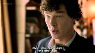 Sherlock's encoding (for Irene Adler) [Full HD, Eng subs]