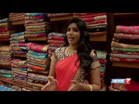Fresh arrival sarees ahead of Diwali fest in Chennai | News7 Tamil