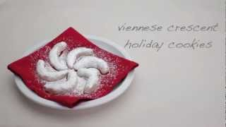 How To Make Viennese Crescent Holiday Cookies