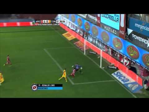 Respira Gorosito: Argentinos goleó a Crucero en La Paternal