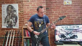 Iced Earth Dragon 39 S Child Guitar