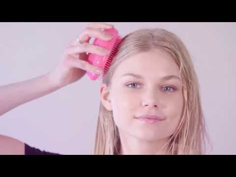 Step 1 - Detangle with The Original detangling hairbrush