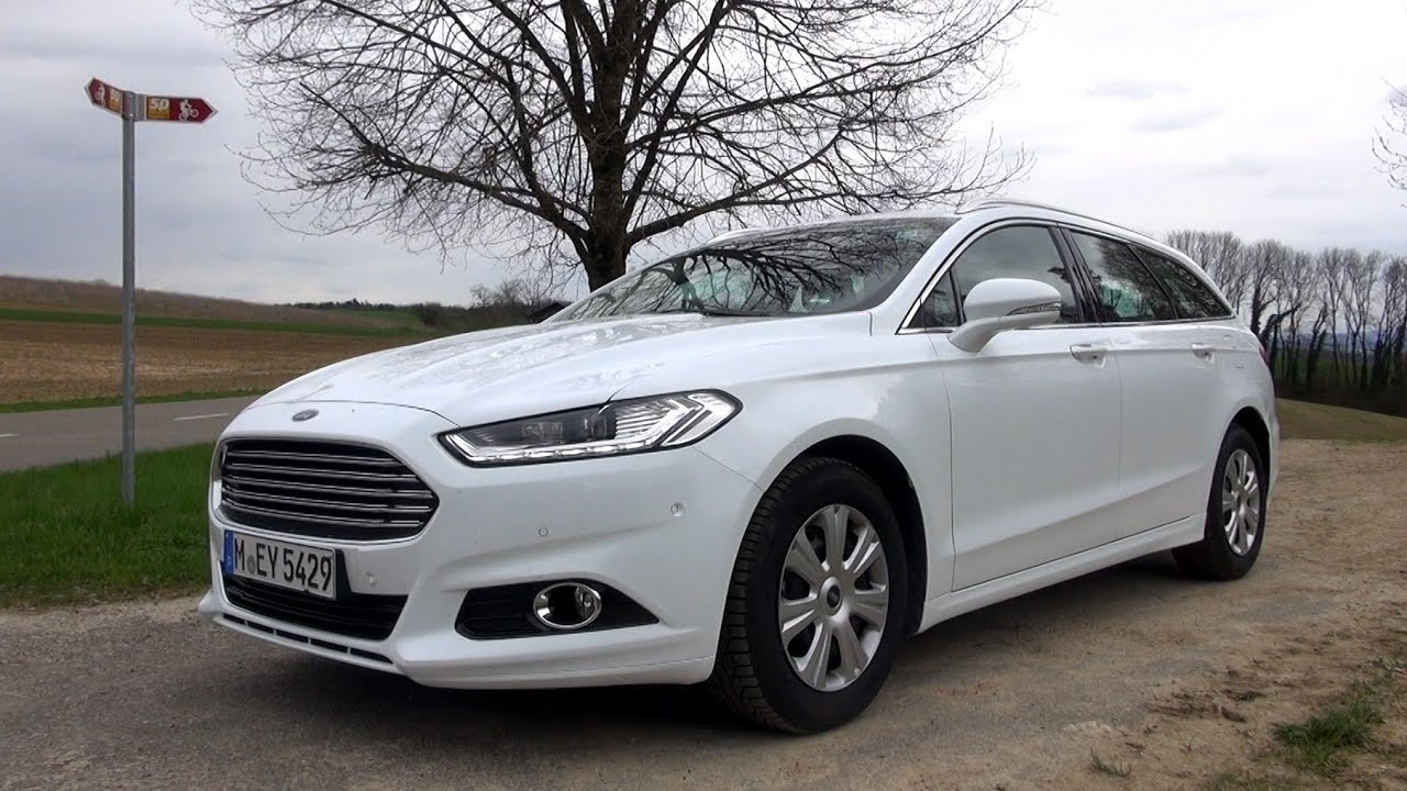 2015 ford mondeo turnier 1 6 duratorq tdci 115 hp test drive youtube. Black Bedroom Furniture Sets. Home Design Ideas