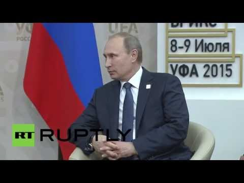 Russia: Rouhani thanks Putin for Russia's role in Iranian nuclear talks