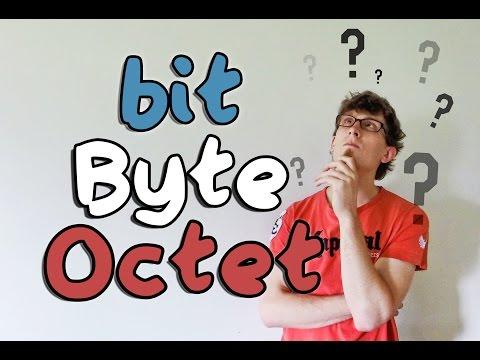 bit / Byte / Octet - Les unités Informatiques [5 Minutes Pour]