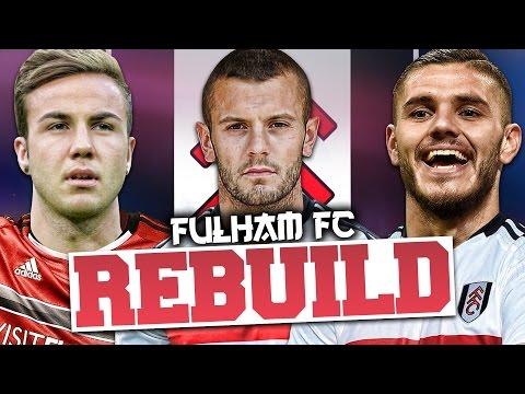 REBUILDING FULHAM!!! FIFA 17 Career Mode