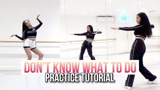 PRACTICE BLACKPINK - 39;Don39;t Know What To Do39; - Dance Tutorial - SLOWED + MIRRORED
