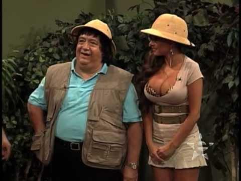 comedia y risas en estudio2 tarzan de la selva con ninel