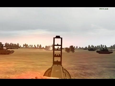 ArmA 2 ACE руководство по стрельбе из РПГ-18 и М136