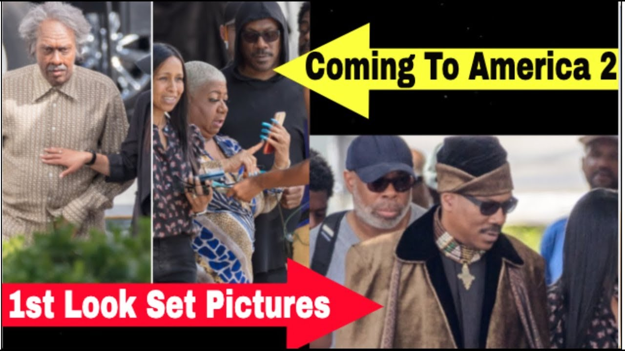 Coming To America 2 Cast First Pictures Surface As Coming To America 2 Cast Starting Filming Youtube