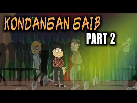 Kondangan Gaib (Part 2) - Animasi Horor Kartun Lucu - Warganet Life