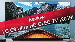 LG OLED55C9 UHD OLED TV review