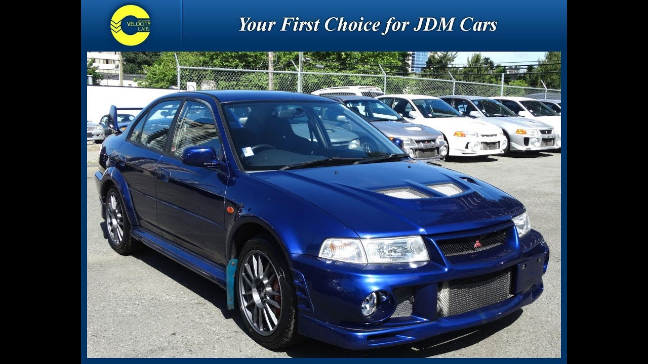 1999 mitsubishi lancer evolution vi for sale in vancouver bc canada youtube. Black Bedroom Furniture Sets. Home Design Ideas