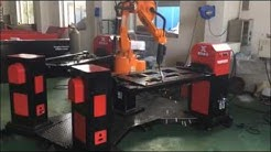 Automatic 6 axis robot industrial welding robot for warehouse