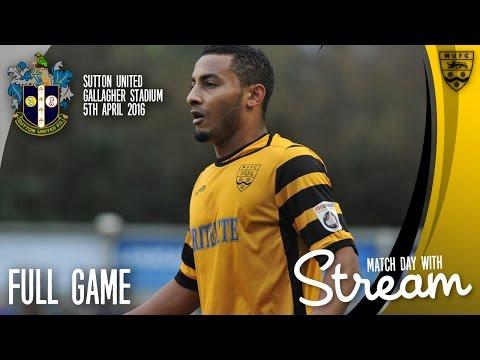 Maidstone United Vs Sutton United FULL GAME