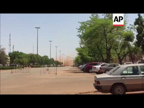 Helicopter lands near French embassy in  Ouagadougou