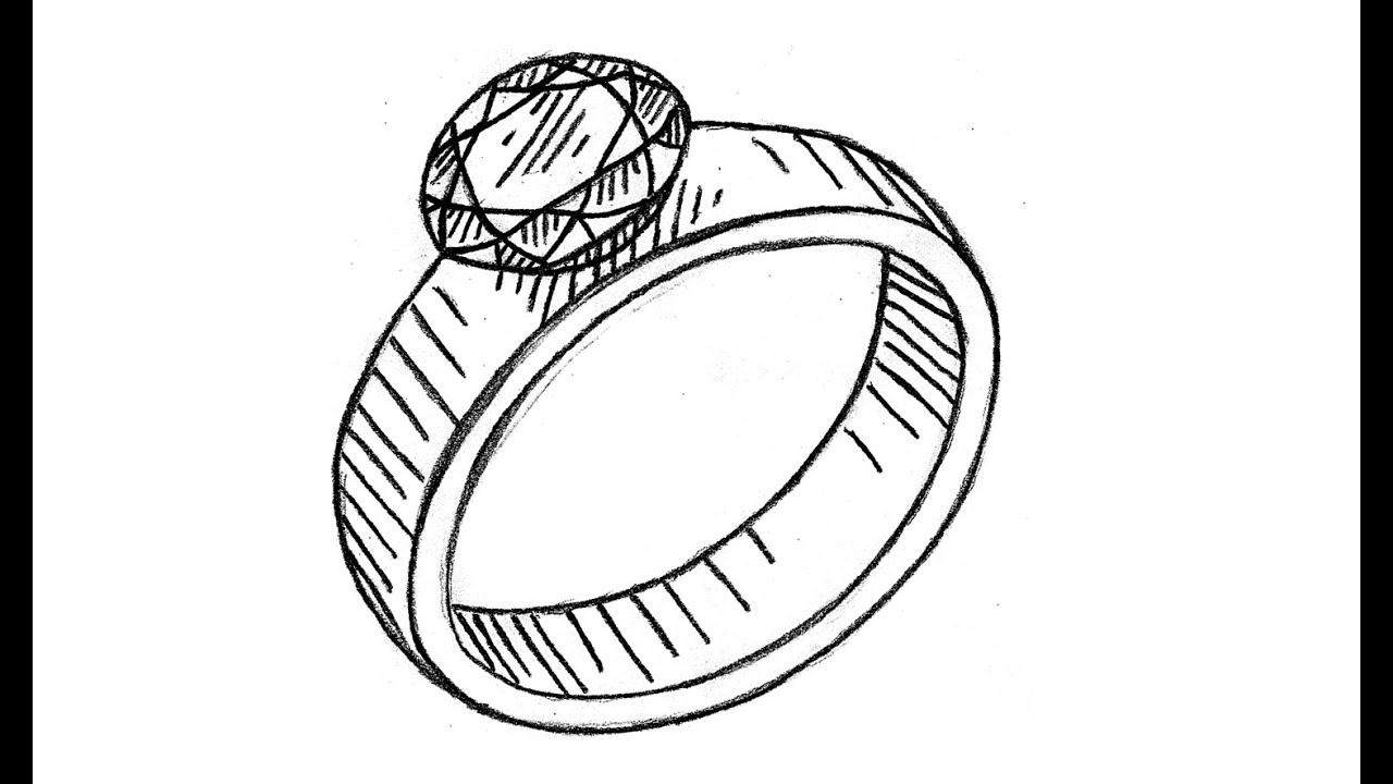 It's just a picture of Crazy Drawing Of A Ring
