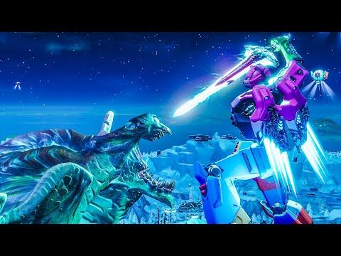 Robot VS Monster The Final Fight   Fortnite Short Film