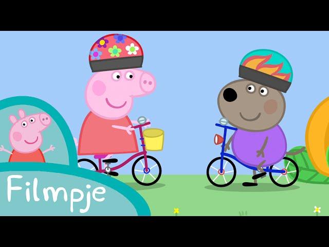 Peppa Pig Nederlands Compilatie Nieuwe Afleveringen | Fietsen | Tekenfilm | Peppa de Big
