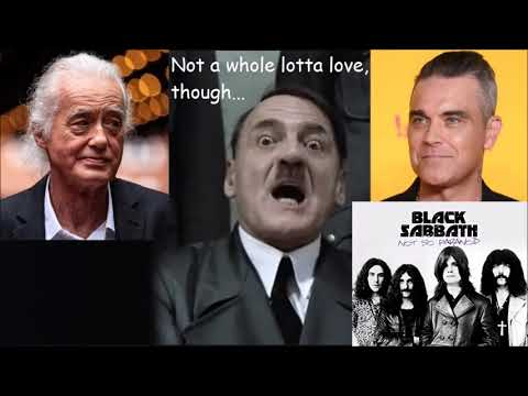 Hitler is Informed Robbie Williams is Tormenting His Neighbor Jimmy Page With Black Sabbath Mp3
