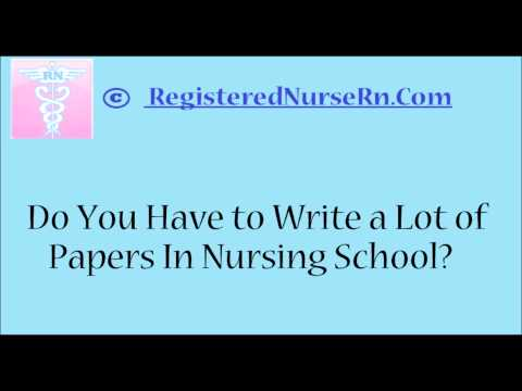 writing an essay to get into nursing school