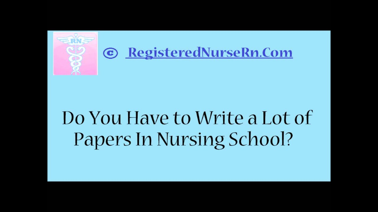 Cutom written nursing papers