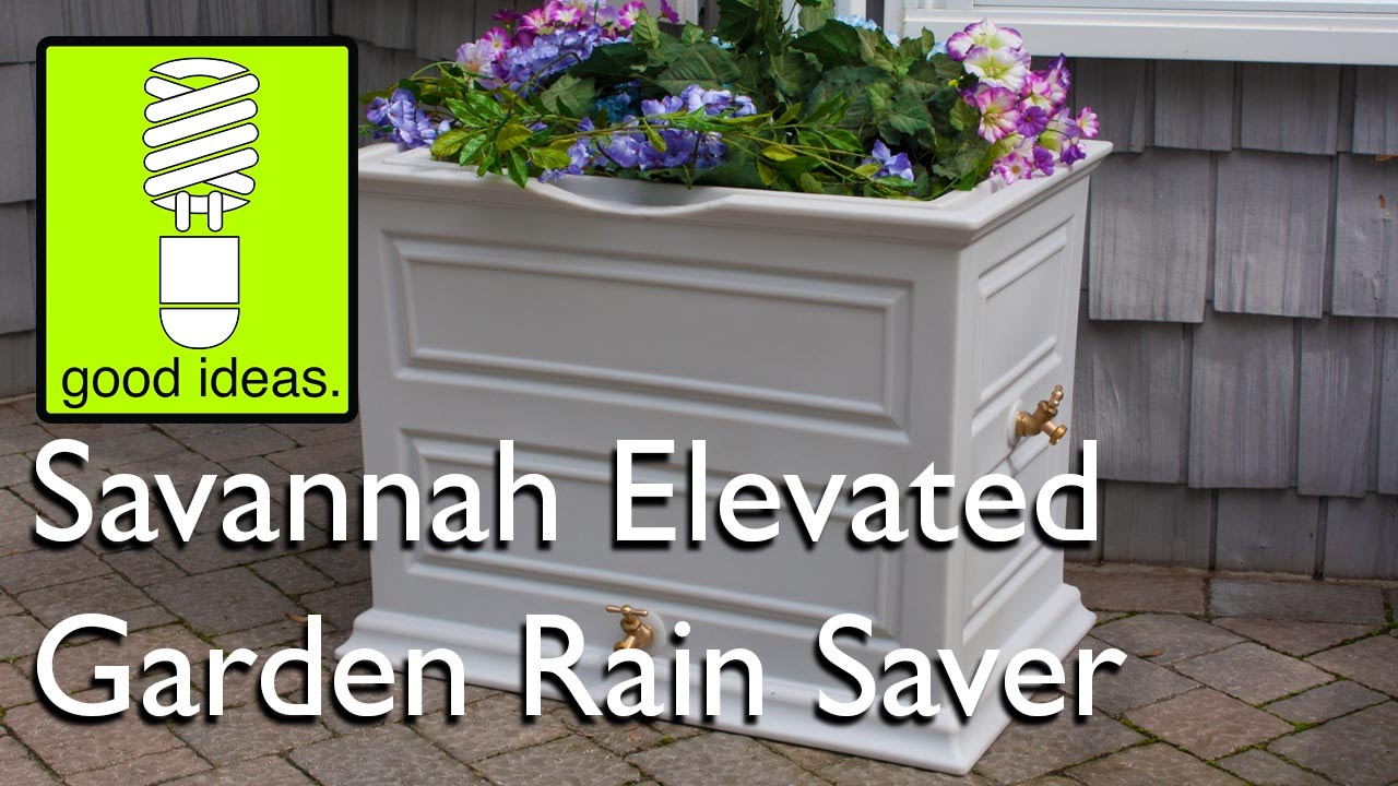 Impressions Savannah Elevated Garden Rain Saver