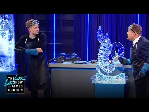Download Youtube: Ice Sculptor: Amazing Demonstration