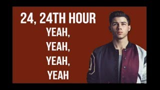 NICK JONAS - 24TH HOUR [LYRICS]