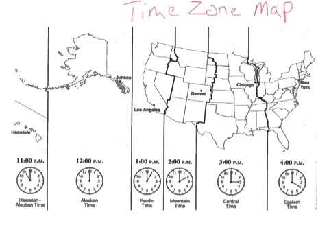 Time Zone Map YouTube - Us time zone map black and white