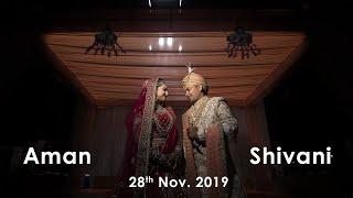 Raanjhana |  Asad Khan ft. Arijit Singh | AMAN & SHIVANI | WEDDING HIGHLIGHT