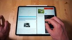 Multitasking auf dem iPad: mit mehreren Apps arbeiten