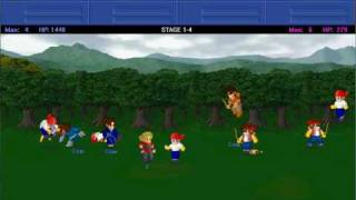Little Fighter 2 gameplay 1
