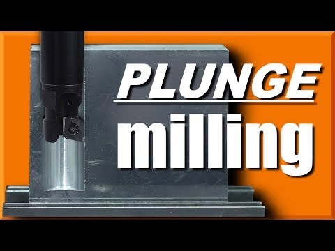Plunge Milling - Great for Roughing & Slotting!  WW205