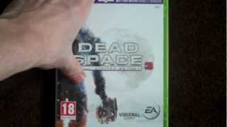 Dead Space 3 (Limited Edition, Xbox 360) Unboxing